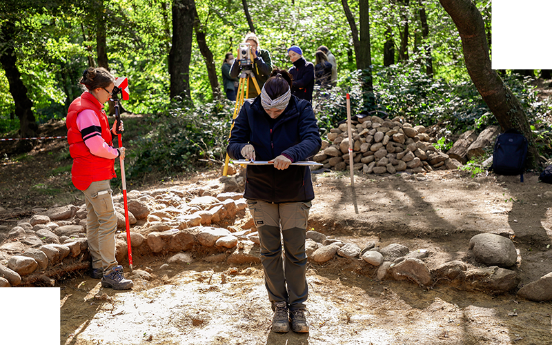 """""""Una casa nel borgo"""" nel Parco archeologico di Castelseprio"""