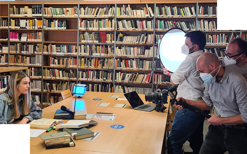 From Matilde to Valeria: a journey through words and images in the backstage of the new Unicatt advert