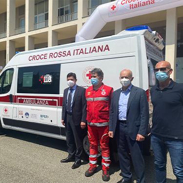 """Un'ambulanza """"speciale"""" per la Croce Rossa Italiana"""